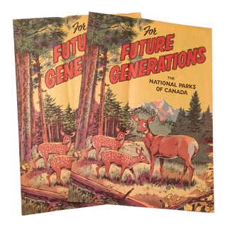 Vintage Canadian National Park Pamphlets - a Pair