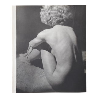 Vintage Mid Century Nude Photogravure C.1941