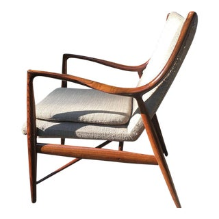 Vintage Finn Juhl Nv-45 Rosewood Club Chair
