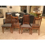 Image of Mid-Century Modern High Back Dining Chairs - Set of 4