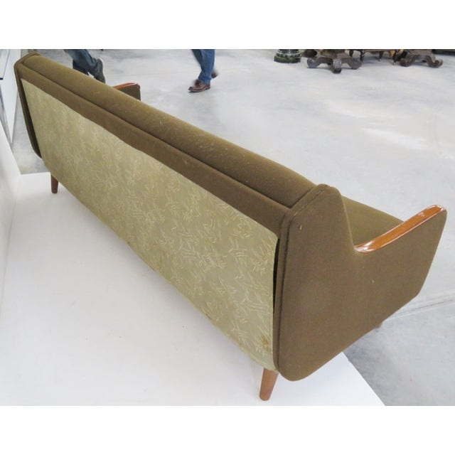 Danish Modern Daybed Pullout Sofa - Image 4 of 6