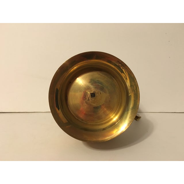 Large Brass Pitcher - Image 6 of 7