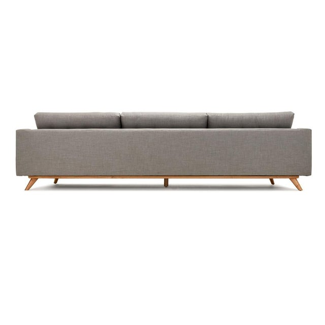 Clad Home Mid-Century Style Grey Sectional - Image 4 of 5