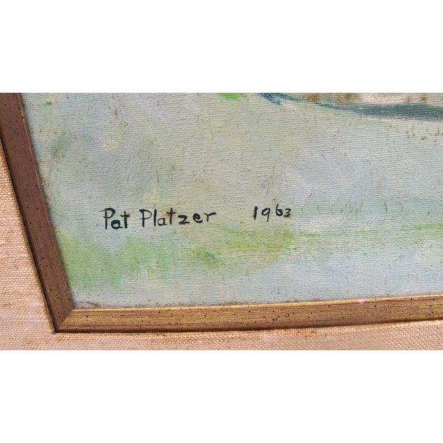 Image of 1960s Still Life Acrylic on Canvas