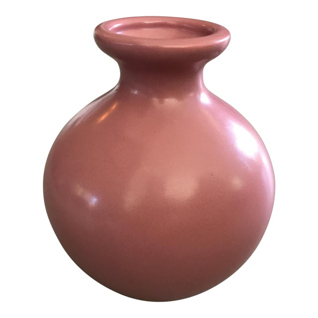 Hager Mauve Bulbous Vase - Image 1 of 3