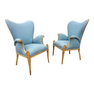 Vintage Fireside Chairs - A Pair
