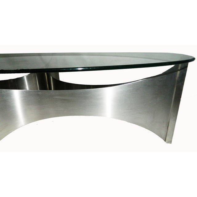 """Maison Charles """"Voiles"""" Coffee Table - Image 2 of 5"""