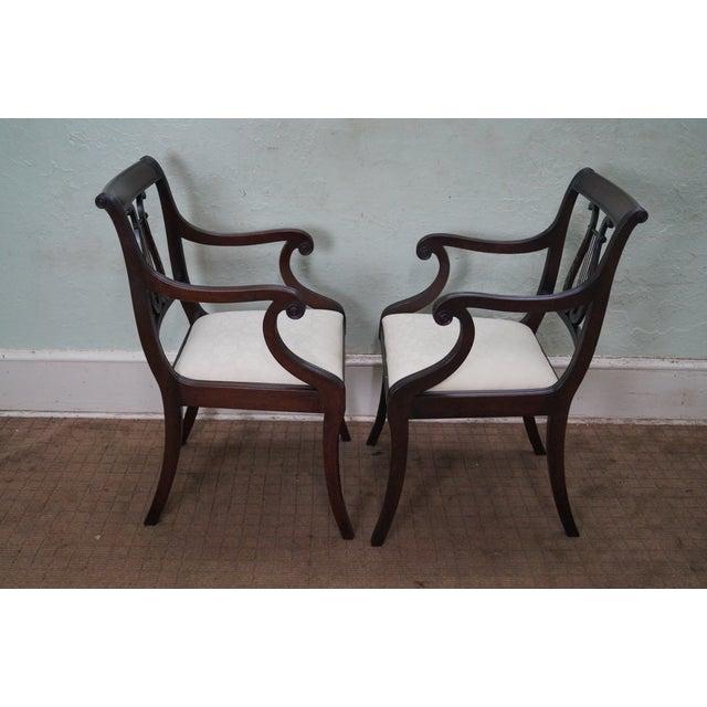 Schmieg/Kotzian Robert Whitley Dining Chairs - 12 - Image 6 of 10