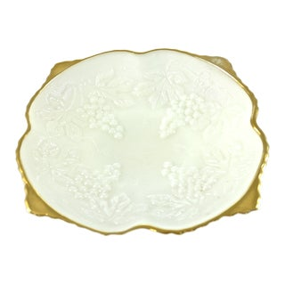 Gold Rim Grape Bowl