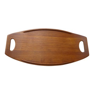 Dansk Danish Mid-Century Modern Cutting Board Tray
