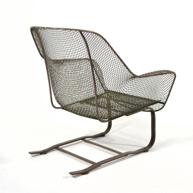 Woodard Sculptura Large Cantilevered Lounge Chair - Image 6 of 7
