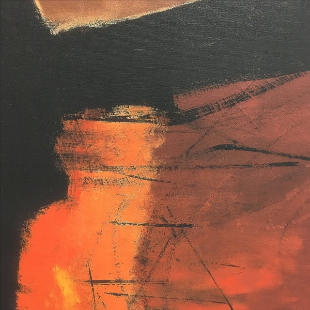 Image of Abstract Giclee Painting by Ron Like