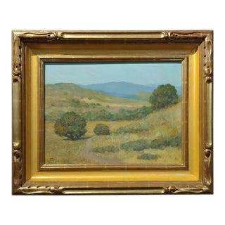 Frank Coburn Impressionist Landscape Oil Painting
