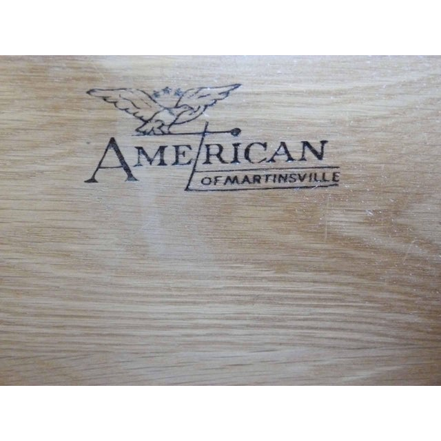 Asian Style White Chest by American Martinsville - Image 9 of 9