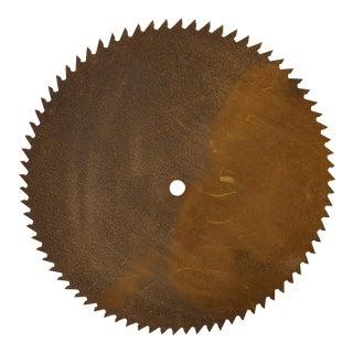 Antique Handhewn Iron Circular Saw Blade