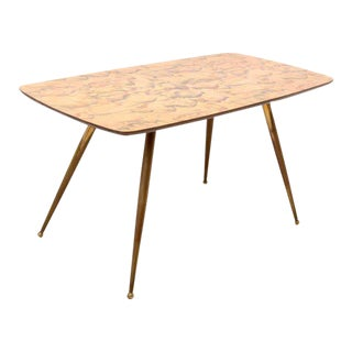 Mid Century Modern Table After Piero Fornasetti