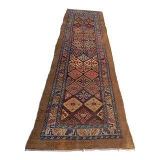 Antique Persian Runner- 3′4″ × 12′6″