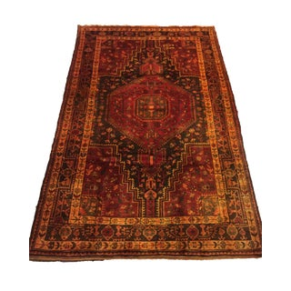 Hand Knotted Persian Rug - 4′8″ × 8′