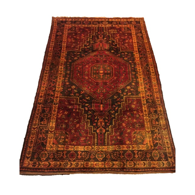 Hand Knotted Persian Rug - 4′8″ × 8′ - Image 1 of 7
