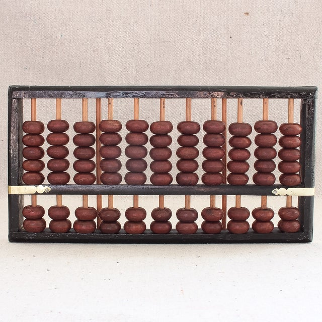 Image of Vintage Asian Abacus