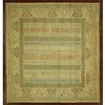 Image of Square Pakistani Multicolor Chobi Rug - 6' x 6'