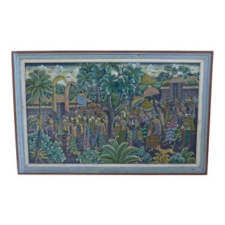 "Hindu Spring Festival ""Holi"" Painting"