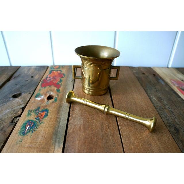 Brass Mortar & Pestle - Image 4 of 5