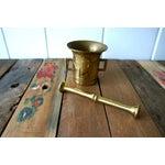 Image of Brass Mortar & Pestle