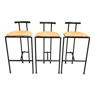 Rodney Kinsman Italian Bar Stools - Set of 3