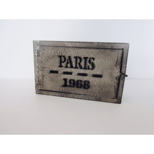 Image of Industrial Parisian Key Storage Cabinet