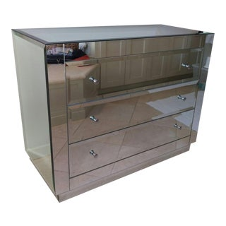 Horchow Ryan Mirrored Chest