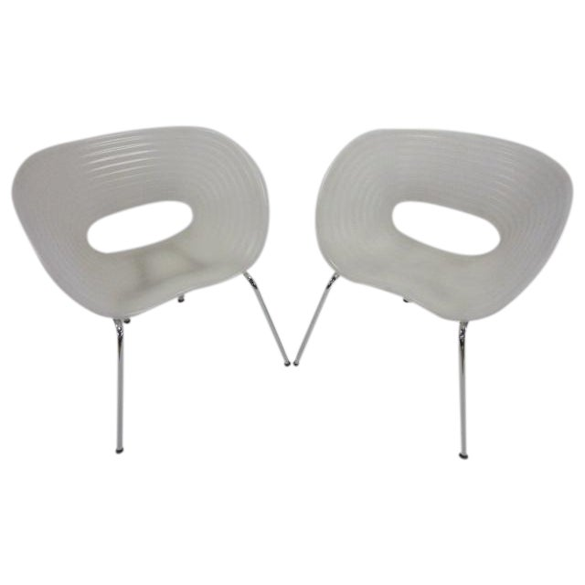 Image of T-Vac Chairs by Ron Arad for Vitra - A Pair