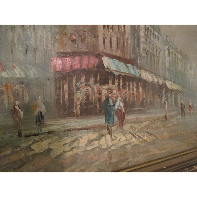 Image of French Neo Impressionist Antoine Blanchard Oil on Canvas