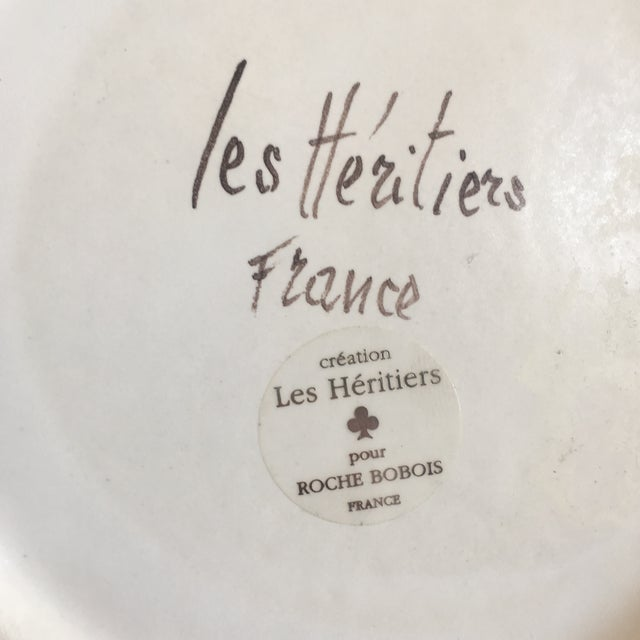 Les Heritiers for Roche Bobois French Vase - Image 10 of 10