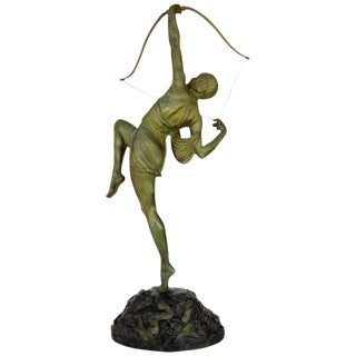 """""""Tireuse A L'arc"""" Bronze Greek Archer by Pierre Le Faguays"""