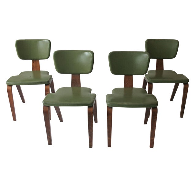 Vintage Thonet Bentwood Chairs - Set of 4 - Image 1 of 7