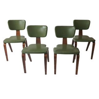 Vintage Thonet Bentwood Chairs - Set of 4