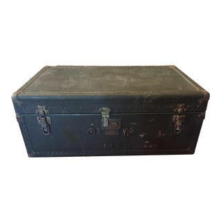 Vintage WWII Military Hartman Trunk