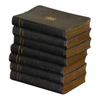 Leather Shakespeare Books - Set of 7