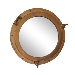 Nautical Brass Porthole Mirror