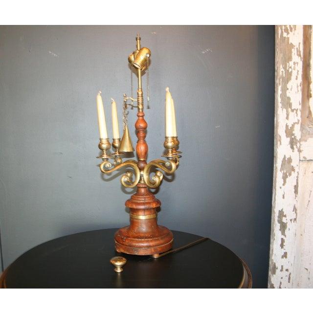 Vintage Chapman Candelabra Lamp - Image 4 of 7