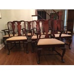 Image of Fiddle Back Dining Chairs - Set of 8