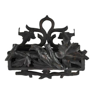 19th Century Black Forest Wall Mounted Shelf