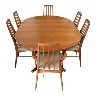 Koefoeds Hornslet Danish Modern Dining Set