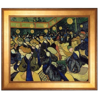 """The Dance Hall in Arles"" by Vincent van Gogh"