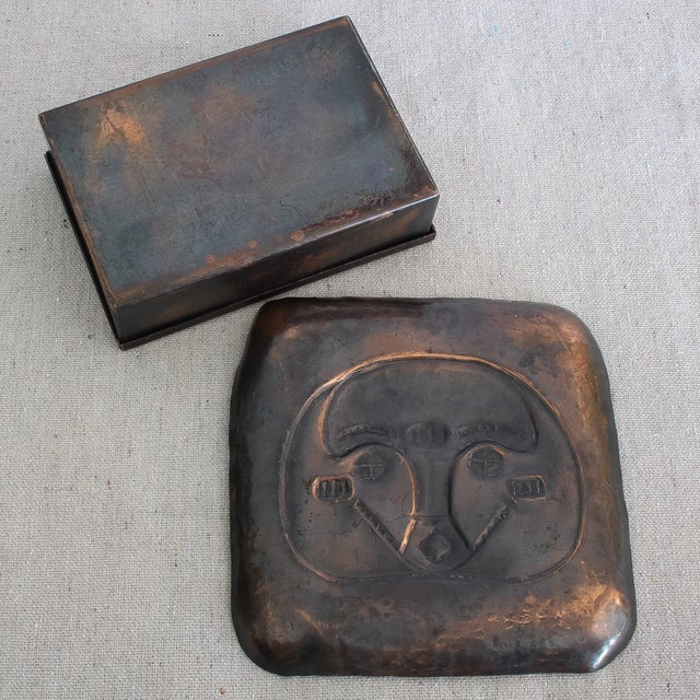 Art Deco African Box & Tray - Image 8 of 8