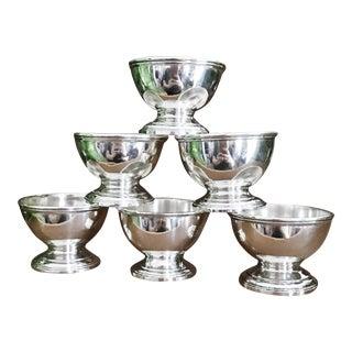 Antique Tiffany & Co. Sterling Silver Salt Cellars - Set of 6
