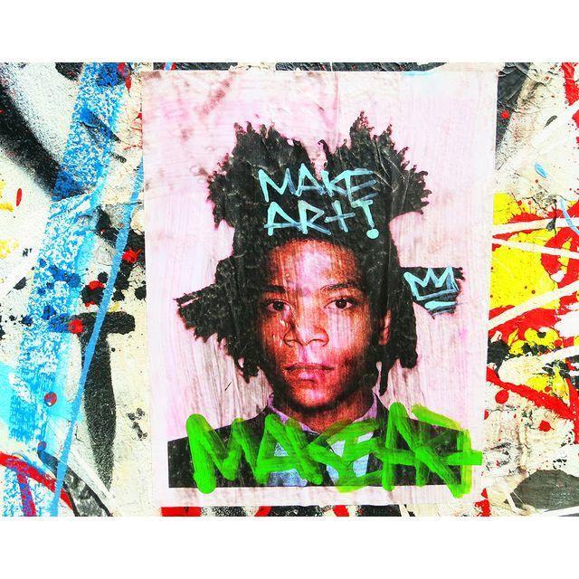 Image of NY Street Art Photo of Basquiat