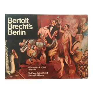 Bertolt Brecht's Berlin, Vintage 1st Edition Book