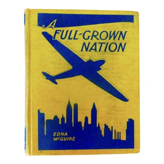 A Full-Grown Nation, Art Deco Book
